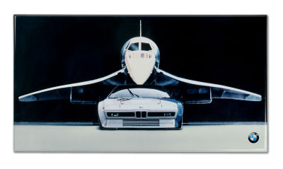 Металлическая пластина BMW M1 - Concorde Metal Sign