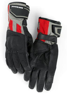 Женские мотоперчатки BMW Motorrad GS Dry Glove, Ladies, Black/Grey/Red
