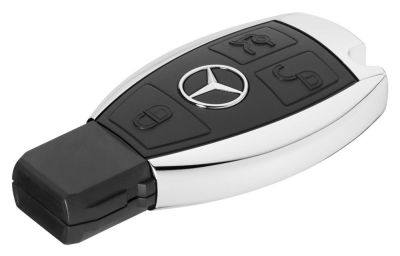 Флешка Mercedes-Benz USB Stick, Black / Silver, 16Gb