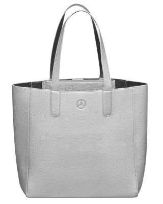 Сумка для покупок Mercedes-Benz Shopper, Silver / Black-coloured