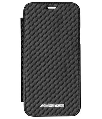 Чехол-книжка для iPhone® X Mercedes-AMG Cover for iPhone® X, Booktype, Black