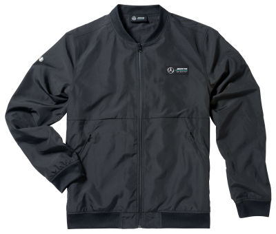 Мужская легкая куртка Mercedes F1 Lightweight Men's Jacket, Black