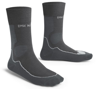 Носки BMW Motorrad Summer Functional Socks, Unisex, Anthracite/Black