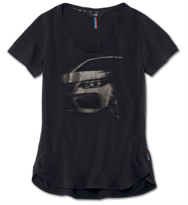 Женская футболка BMW M Graphic T-Shirt, Ladies, Black