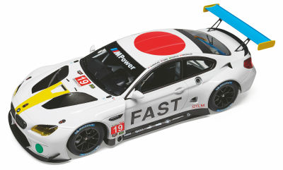 Модель автомобиля BMW M6 GTLM Art Car John Baldessari, 1:18 Scale