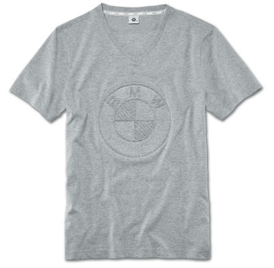 Мужская футболка BMW Logo T-Shirt, Men, Grey Melange