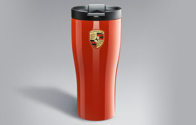 Термокружка Porsche High-end Thermal Beaker, Lava Orange