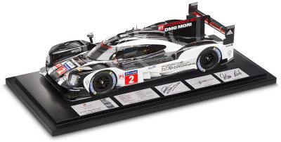 Гоночный болид Porsche 919 Hybrid Le Mans Winner #2 2017, Scale 1:18, Limited Edition