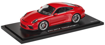 Модель автомобиля Porsche 911 GT3 Touring Package, Guards Red, Limited Edition, Scale 1:18