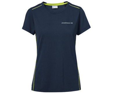Женская футболка Porsche Women's T-shirt, Dark Blue, Sport