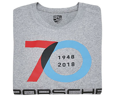 Футболка унисекс Porsche Collector's T-Shirt, 70 Years Anniversary, Unisex, Classic Collection