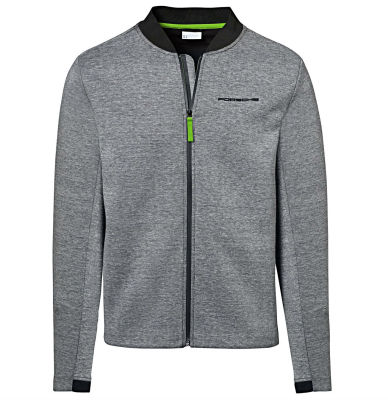 Мужская толстовка Porsche Men's Sweat Jacket, 911 GT3 RS, Grey Melange