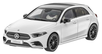 Модель Mercedes A-Class (W177), Scale 1:18, Digital White