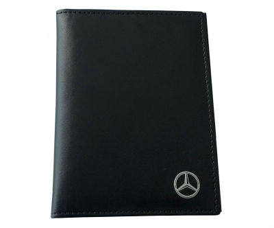 Обложка для паспорта Mercedes Driver's Document Case, Black