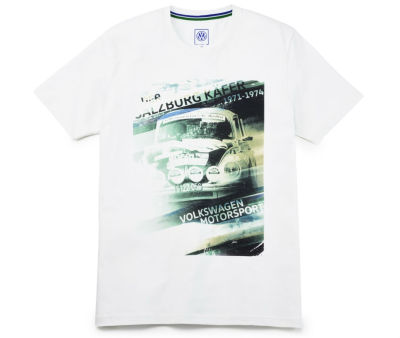 Мужская футболка Volkswagen Motorsport T-Shirt, Salzburg Beetle, Men's, Off White