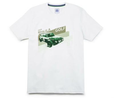 Мужская футболка Volkswagen Motorsport T-Shirt, Golf I GTI, Men's, Off White