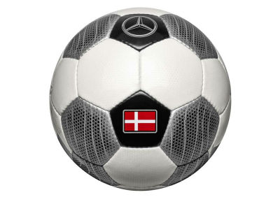Футбольный мяч Mercedes Football Size 5 (standart), Team Denmark