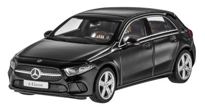 Модель Mercedes-Benz A-Class (W177), Progressive Line, Scale 1:43, Cosmos Black