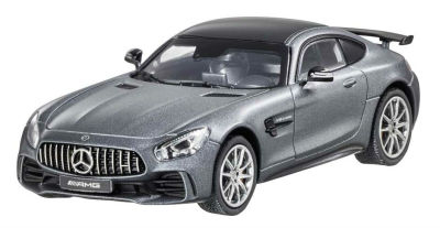 Модель Mercedes-AMG GT R (C190), Coupé, Scale 1:43, Designo Selenite Grey Magno