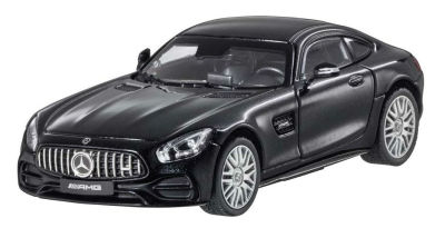 Модель Mercedes-AMG GT (C190), Coupé, Scale 1:43, Magnetite Black