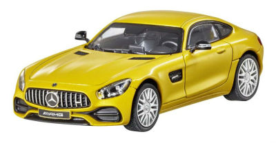 Модель Mercedes-AMG GT (C190), Coupé, Scale 1:43, Solarbeam