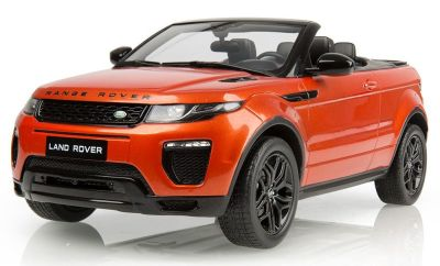 Модель автомобиля Range Rover Evoque 3 Door Convertible, Scale 1:18, Phoenix Orange