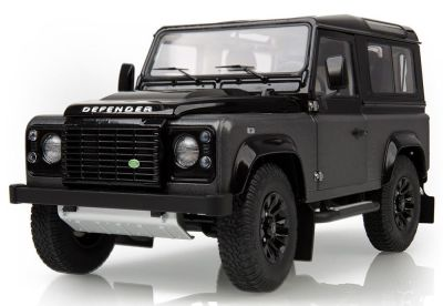 Модель автомобиля Land Rover Defender Final Edition Autobiography, Scale 1:18, Black