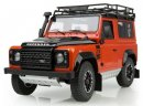 Модель автомобиля Land Rover Defender Final Edition Adventure, Scale 1:18, Orange