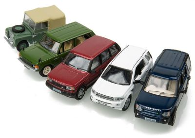 Набор моделей Land Rover Classic 5 Piece Set, Scale 1:76