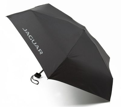 Складной зонт Jaguar Pocket Umbrella Black, 2018
