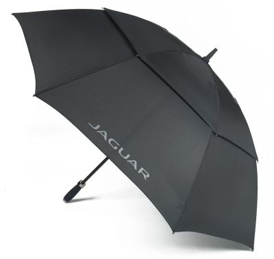 Зонт-трость Jaguar Golf Umbrella Black, 2018