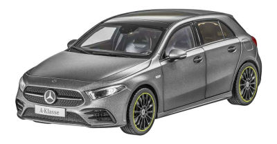 Модель Mercedes A-Class (W177), Scale 1:18, Designo Mountain Grey Magno