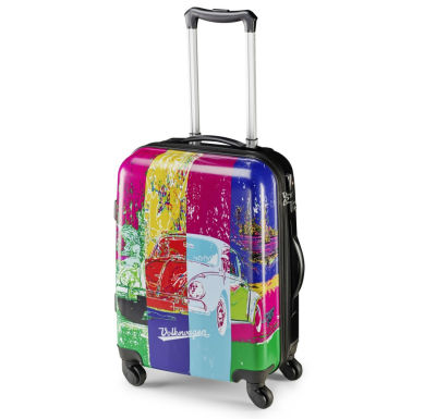 Чемодан на колёсиках Volkswagen Pop Art Beetle Cabin Trolley, Multicolour