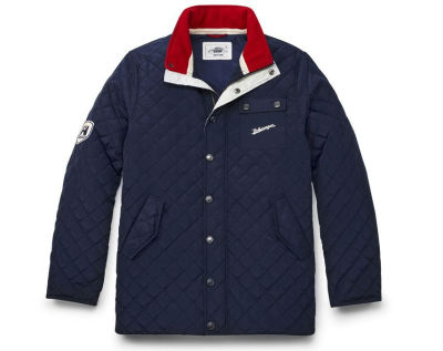Мужская стеганая куртка Volkswagen Classic Quilted Jacket, Men's, Dark Blue