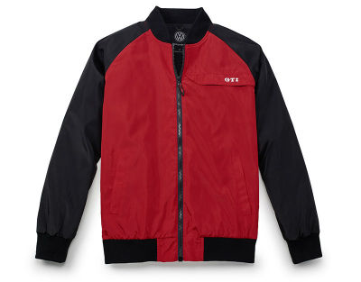 Мужская куртка пилота Volkswagen GTI Pilot Jacket, Men's, Red/Black