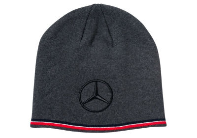 Вязаная шапка унисекс Mercedes-Benz F1 Team Beanie, Season 2018, Black