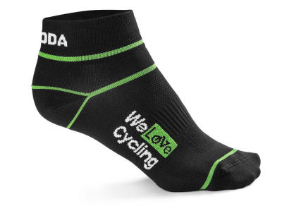 Носки унисекс Skoda Sport Socks, We Love Cycling, Black