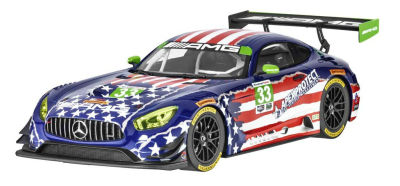 Модель Mercedes-AMG GT3 Riley Raceteam 4th July, 1:18 Scale