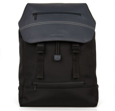 Рюкзак Land Rover Rucksack, Nylon and Leather, Black