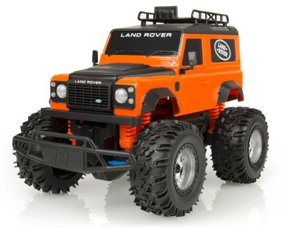 Радиоуправляемая модель Land Rover Defender 90 Remote Control, 1:16 scale, Orange/Black
