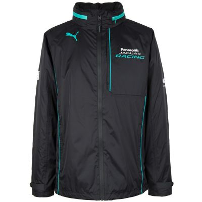 Мужской дождевик Panasonic Jaguar Racing Men's Rain Jacket, Black