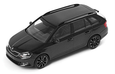 Модель автомобиля Skoda Fabia Combi, Scale 1:43, Magic Black Metallic
