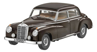 Модель Mercedes-Benz 300 W 186 (1951-1954), Tobacco Brown, Scale 1:18