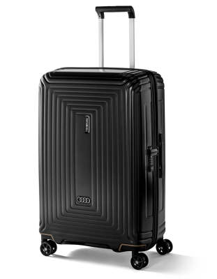 Чемодан Audi Trolley Case, Black Matt, Size-M