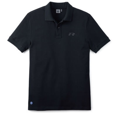 Мужская рубашка-поло Volkswagen R-Line Men's Polo Shirt, Black