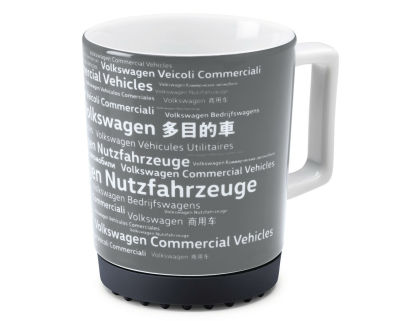 Фарфоровая кружка Volkswagen Commercial Vehicles Mug, Black
