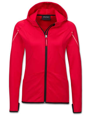 Женская куртка Audi Sport Midlayer Jacket, Womens, red