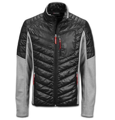 Мужская куртка Audi Sport Hybrid Jacket, Mens, grey/black