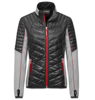 Женская куртка Audi Sport Hybrid Jacket, Womens, grey/black