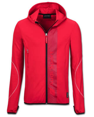 Мужская куртка Audi Sport Midlayer Jacket, Mens, Red